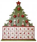 Adventskalender ungefüllt , Weihnachtsbaum