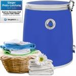 Syntrox 3, 0 Kg Waschmaschine mit Schleuder und Timer Blau