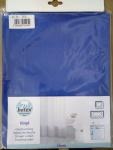 Duschvorhang BATEX CLASSIC Vinyl, blau, 180 x 200 cm