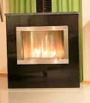 Standkamin Feuerstelle Kamin 105x100 cm Granit schwarz WK-04 GNA