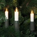 LED-Weihnachtsbaumkette, 30 x LED/E14/8-34V/0, 1W, IP44