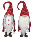 2 x Gnom 30cm, Weihnachtsfiguren