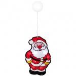 LED-Fensterbild, Weihnachtsmann,