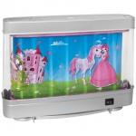 LED-Kinderzimmerleuchte, Prinzessin mit Einhorn, LEDs/3W