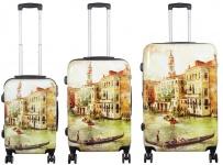 Kofferset 3tlg Reisekoffer Polycarbonat Hartschale Venedig