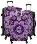 Kofferset 3tlg Reisekoffer Polycarbonat Hartschale Aurora