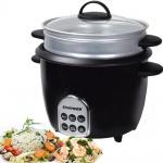 Syntrox Gourmet Multikocher Multifunktionskocher Reiskocher Dampfgarer mit Warmhaltefunktion, 1, 8 l, 700 Watt