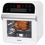 Syntrox Multifunktions-Airfryer AF-1600W Dom mit Touch Screen