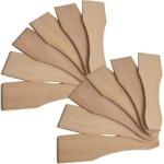 Syntrox Design Universal Holzspatel Racletteschieber Raclettesspachtel Wender 12 Stück Set