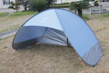 POP-UP Strandmuschel aus Polyester UPF 80+, in Sekunden aufgebaut, 220 x 120 x 120 cm