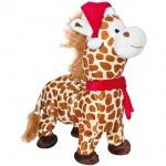 singende, laufende, tanzende Weihnachtsgiraffe, Lied: Jingle Bells