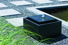 Ubbink Sonora - Wasserspiel Terrazzo mit LED anthrazit