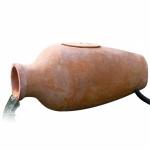 Ubbink Amphora 1 Filterset - Dekorativer Krug aus Terracotta mit Filter