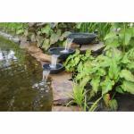 Mistaya, Wasserspiel, 3 Wasserfall-Schalen, 900l/h