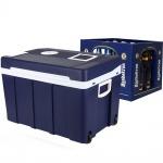 Gino Gelati 50 Liter Mini Kühlschrank AMP Warmhaltebox 12V 220V Kühlbox Bierkasten Kühlen