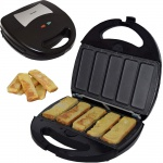 Syntrox Germany French Toast Maker Arme Ritter Chefmaker SM-1300W French Toast herausnehmbare Backplatten