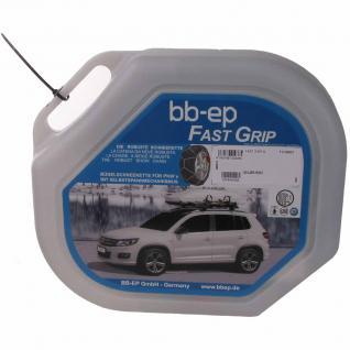 Schneekette für Subaru Forester (2002) mit der Reifengröße 215/60 R16 Continental Conti Premium Contact 2 - MIT SELBSTSPANNMECHANISMUS - 5 Jahre Garantie mit Ö-Norm, UNI und TÜV