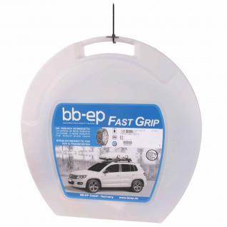 Schneekette für BMW X3 (E83) mit der Reifengröße 235/55-17 - Die 16mm-Kette mit manueller Spannung - 5 Jahre Garantie mit Ö-Norm, UNI und TÜV