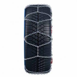 Schneekette für Seat Ateca mit der Reifengröße 215/50 R18 - MIT SELBSTSPANNMECHANISMUS - 5 Jahre Garantie mit Ö-Norm, UNI und TÜV - Vorschau 2