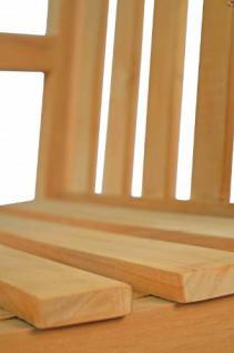 """Massiver Sessel aus der Serie """"Andorra"""" hochwertig gefertigt aus Teakholz mit Armlehne und Rückenlehne von Kai Wiechmann® / Stuhl/ Gartenstuhl/ Gartenmöbel/ Gartensessel/ Teak-Sessel - Vorschau 4"""