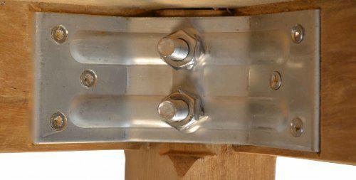"""Moderner Design Gartentisch aus der Premium-Serie """"Notting Hill"""" gefertigt aus Teakholz 90x90 cm von Kai Wiechmann® / Teak-Tisch/ massiv/ Esstisch/ quadratisch/ Premium-Qualität - Vorschau 3"""