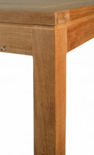 """Moderner Design Gartentisch aus der Premium-Serie """"Notting Hill"""" gefertigt aus Teakholz 90x90 cm von Kai Wiechmann® / Teak-Tisch/ massiv/ Esstisch/ quadratisch/ Premium-Qualität - Vorschau 4"""