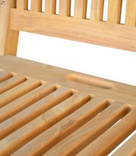 """Stabiler Klappstuhl aus der Serie """"Vitello"""" hochwertig gefertigt aus Teakholz ohne Armlehne von Kai Wiechmann®/ Sessel/ Stuhl/ Gartenstuhl/ Gartenklappstuhl/ Gartenmöbel - Vorschau 2"""