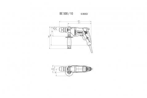 Metabo Bohrmaschine BEV 1300-2 - Vorschau 2