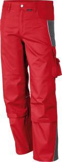 Bundhose Pro Serie MG 245 rot/grau - Vorschau 1