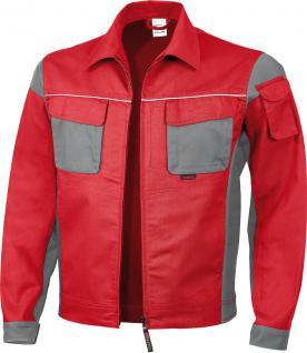 Bundjacke Pro Serie MG 245 rot/grau