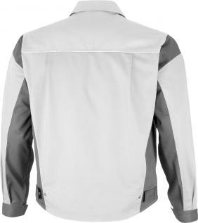 Bundjacke Pro Serie MG 245 weiß/grau - Vorschau 2