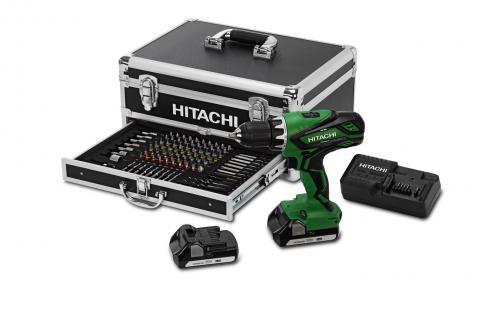 hitachi akku schlagbohrschrauber 18v power box set 2 0. Black Bedroom Furniture Sets. Home Design Ideas