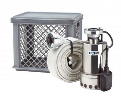 Homa Flut-Set mit Schmutzwasserpumpe CR 360 V WA