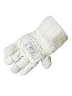 5-Finger Arbeitshandschuhe Spaltleder Größe 10,5