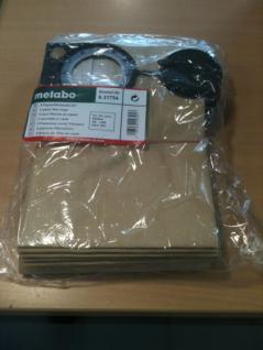 Metabo Papierfilterbeutel a' 5 Stück # 6.31754