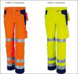 Warnschutz Bundhose warnorange/marine oder warngelb/marine