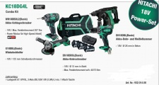 Hitachi Combo-Kit KC18DG4L