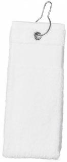 Proact GOLFHANDTUCH - ZENTRALE ÖSE 100% Baumwolle. Mit Metall-Öse und Haken