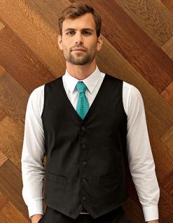 Premier Workwear Herren Gastro-Weste