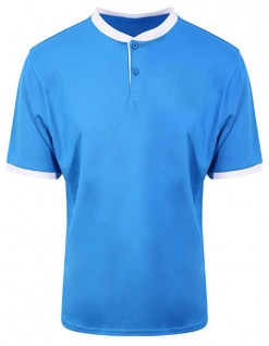 Just Cool Cool Stand Collar Sports Polo