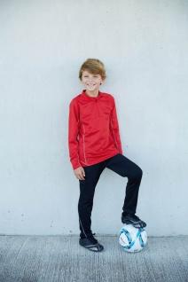 PRO ACT Kinder-Laufsweatshirt mit 1/4-Reißverschluss