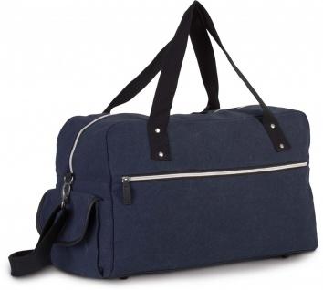 Kimood Reisetasche aus beschichtetem Baumwollcanvas