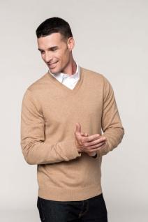 Kariban Premium-Pullover mit V-Ausschnitt