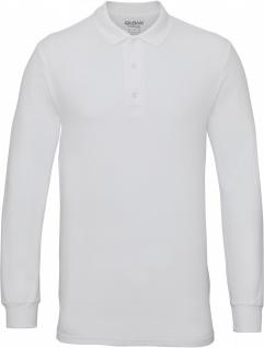 Gildan Premium Men's Long-Sleeved Polo Shirt