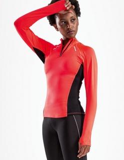 Sol's Damen Laufshirt mit Reißverschluss