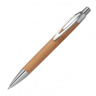 MACMA Kugelschreiber Bambus mit spitzem Clip