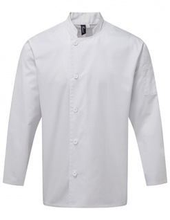 Premier Workwear Essential Long Sleeve Chefs Jacket