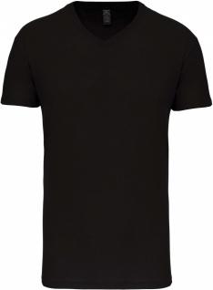 Herren-T-Shirt Bio150 mit V-Ausschnitt