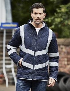YOKO Hi Vis Kensington Jacket (with Fleece Lining)