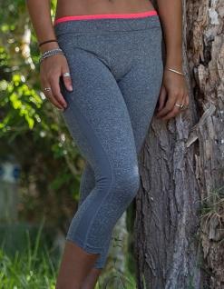 SPIRO Damen Capri Fitness Hose